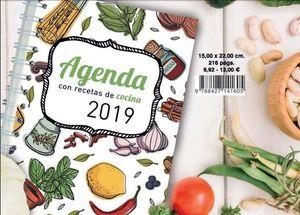 AGENDA CON RECETAS DE COCINA 41605 MAK035446