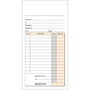 PLUS OFFICE TALON 1/3 DEL Fº FACTURAS T8 T8 MAK035488