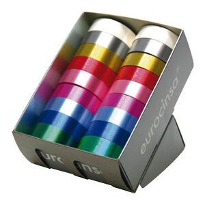 MAKRO PAPER CINTA LAZO 10X31 C.10 SURTIDO 2412E(99)31MM MAK035545