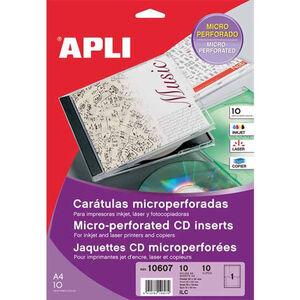 APLI ETIQUETA APLI CD(CAJ)10H 10607 10607 MAK035575