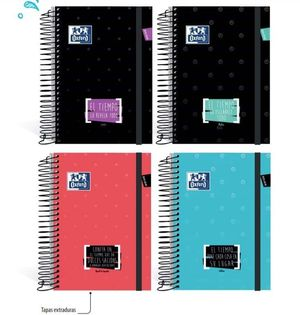 OXFORD AGENDA ESCOLAR OXFORD 8º TIME DP 400117253 MAK035654