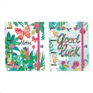 CARPETA CON RECAMBIO OXFORD 100H CN5MM JUNGLE 035877