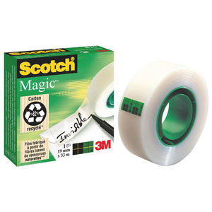 SCOTCH 3M CINTA ADHESIVA INV.SCOTCH 19MMX33M 810/1933 MAK040017