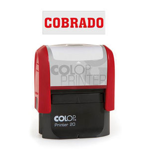 COLOP SELLO COMERCIAL COLOP COBRADO ROJO 141682 MAK040135