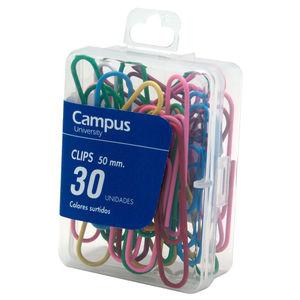 CAMPUS CLIPS COLORES CAMPUS 50MM /30UD 001390 MAK040171
