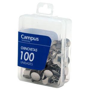 CAMPUS CHINCHETAS CAMPUS CROMADAS /100UD 22/100 MAK040191