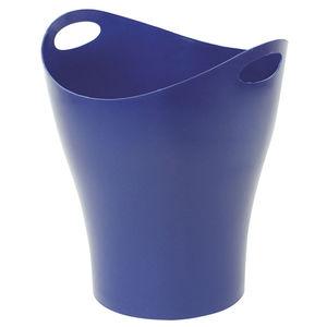 CAMPUS PAPELERA MAKRO PLASTICO OVAL AZUL OSC 2893 BLUE MAK040473