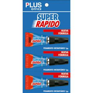 CAMPUS PEGAMENTO PLUS SUPER RAPIDO 1GR/BL.3U C-044 MAK040475