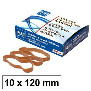 CAMPUS ANILLOS CAUCHO N°12 10MM CAJA 100GR LFL120X10MM MAK040604
