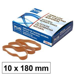 CAMPUS ANILLOS CAUCHO N°18 10MM CAJA 100GR LFL180X10MM MAK040606