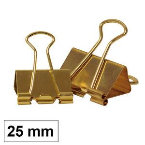 CAMPUS PINZA REVERSIBLE MK 25MM DORADA /12UD LL8025-GD MAK040629