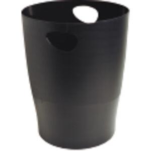 EXACLAIR PAPELERA EXACOM ECOBLACK PLASTICO NEG 453014D MAK040743