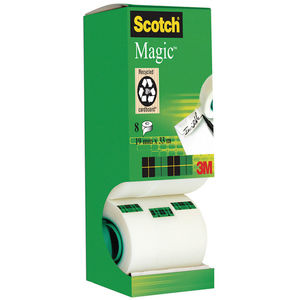 3M MMM CINTA ADHESIVA INV.SCOTCH MAGIC 12X33 810/1233 MAK069177