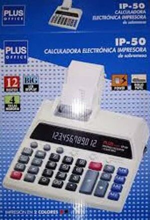 CAMPUS CALCULADORA PLUS SOBREMES.IP50 IP-50 MAK075067
