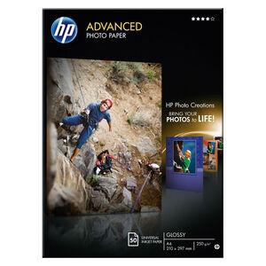 PAPEL PHOTO HP A4 ADVANCED 250G 50H Q8698A MAK002046