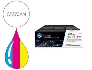 TONER HP 305A PACK4 COLOR * CF370AM MAK165960