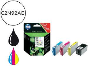 CARTUCHO HP 920XL C2N92AE COLOR PACK4 C2N92AE MAK166332