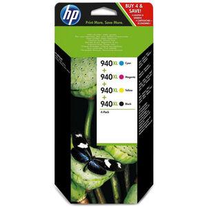 CARTUCHO HP 940XL C2N93AE COLOR PACK4 C2N93AE MAK166331