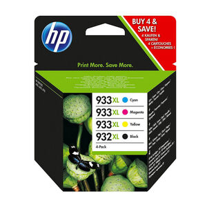 CARTUCHO HP 932+933XL PK4 BK/CY/MG/AM C2P42AE MAK165929