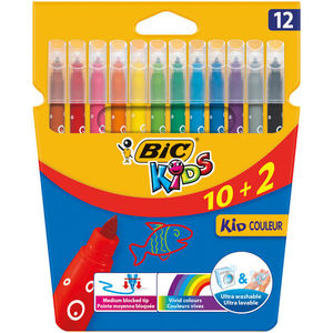 BIC ROTULADOR BIC KID COULEUR 12COLORES 9202942 MAK118803