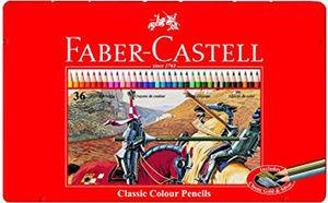 EDDING LAPIZ COLOR FABER METAL 36 COLORES 115886 MAK125041