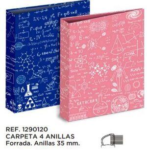 CARPETA A4 4A. 35 MM KATACRAK MATHS 1290120