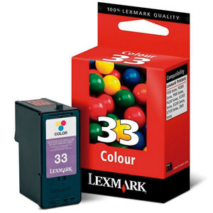 CARTUCHO LEXMARK 33 18CX033E COLOR * 18CX033E MAK130230