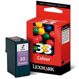 CARTUCHO LEXMARK 33 18CX033E COLOR * 18CX033E MAK130230