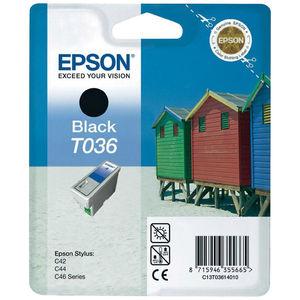 CARTUCHO EPSON T036 NEGRO * C13T03614010 MAK130321
