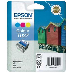 CARTUCHO EPSON T037 COLOR * C13T03704010 MAK130322