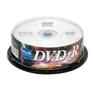 CAMPUS DVD+R PLUS 4,7GB 8X TARRINA 25UD DVD+R/BX MAK130455