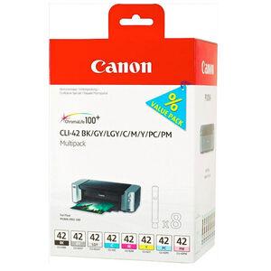 CARTUCHO CANON CLI-42 MULTIPACK PK8 6384B010 MAK165612