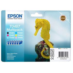 CARTUCHO EPSON T0487 MULTIPACK PK6 C13T04874010 MAK165628
