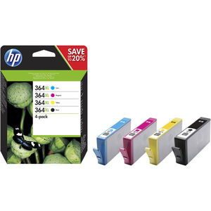 CARTUCHO HP 364XL PACK4/1NG+1PORCOLOR N9J74AE MAK165935