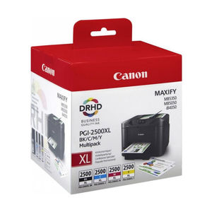 CARTUCHO CANON 2500XL BK/C/M/Y /PACK4 9254B004 MAK165968