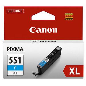 CARTUCHO CANON 551XL CLI551C XL CYAN 6444B001 MAK166051