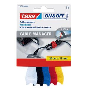TESA TIRAS AUTOSUJECION TESA CABLES ON&OFF 55236-01 MAK166173