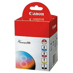 CARTUCHO CANON 8 CLI8 PACK3 * 41512 MAK166234