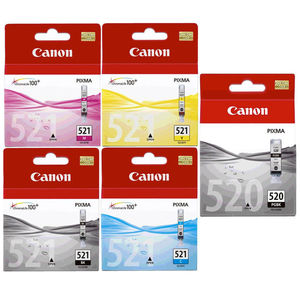 CARTUCHO CANON 520/521CY/AM/MG PACK4* 520/521 MAK166238