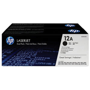 TONER HP 12A Q2612AD N / PACK 2UDS Q2612AD MAK167160