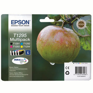 CARTUCHO EPSON T1295 PACK4 * C13T12954010 MAK167162