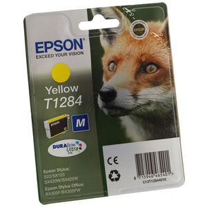 CARTUCHO EPSON T1284 AMARILLO * C13T128440 MAK167221