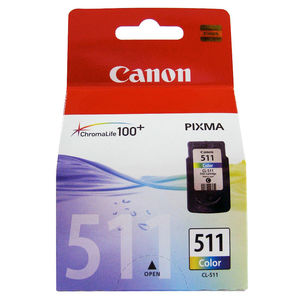 CARTUCHO CANON 511 CL511 COLOR 2972B001 MAK167349