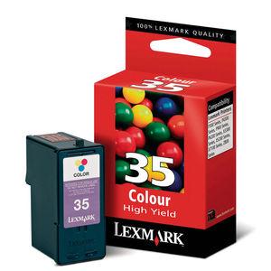 CARTUCHO LEXMARK 35 18C0035E COLOR* 18C0035E MAK167419