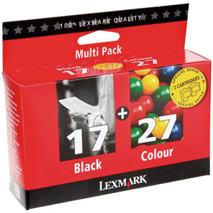 CARTUCHO LEXMARK 17+27 COLOR PACK2 * 80D2952 MAK167442