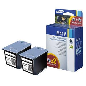 CARTUCHO SAMSUNG M41V NEGRO PACK2* INK-M41V MAK167526
