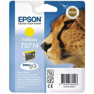 CARTUCHO EPSON T0714 AMARILLO T-0714 MAK167566