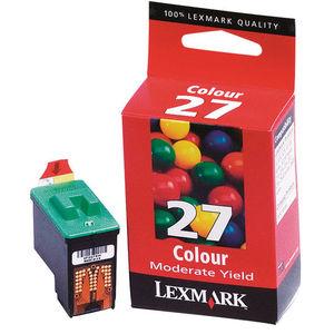 CARTUCHO LEXMARK 27 10NX227E COLOR * 10NX227E MAK169033