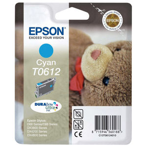 CARTUCHO EPSON T0612 CYAN* C13T061240B0 MAK169986