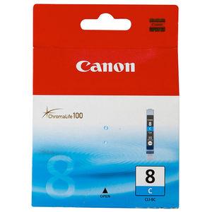 CARTUCHO CANON 8 CLI8C CYAN * 0621B001 MAK169993